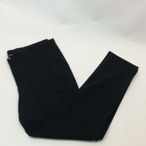 Eileen Fisher charcoal gray ponte knit pants